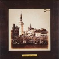 Картина-сувенир «Кремль, Васильевская площадь» 28х28 см