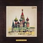 Керамические картины Ceramic-Picture со старинными сюжетами Москвы