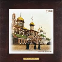 """Картина-сувенир """"Троице-Сергиева Лавра"""" 28х28см"""