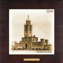 """Картина-сувенир """"Страстной монастырь, 1900 г."""" 28х28см"""