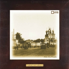 Магазин сувениров предлагает популярный историко-архитектурный сюжет