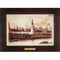 "Картина-сувенир ""Вид Кремля, 1842 г."" 28х38см"