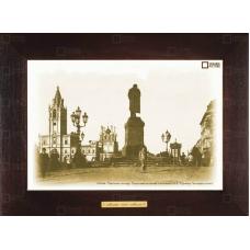 Москва в картинах прошлого на сувенирных полотнах Ceramic Picture