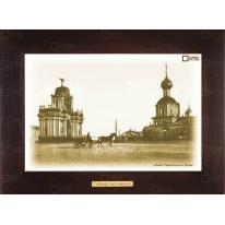 "Картина-сувенир ""Красные ворота на Садовой"" 28х38см"