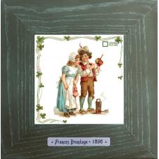 Frances Brundage «Le Artisan» картина в винтажном стиле на керамике