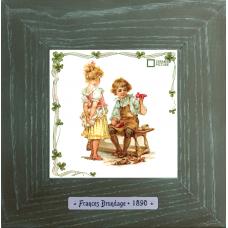 Frances Brundage «Le Сordonnier» винтажные картины на стену
