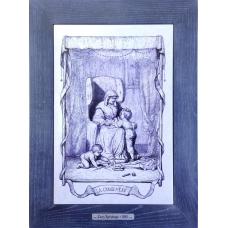 Картина-гравюра  Le Grand Mere произведение искусства