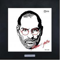 Арт портрет  Steve Jobs, 28х28см