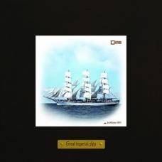 Dar Mlodziezy картина корабля в море для украшения интерьера
