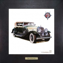Cadillac V 16 Convertible Berline (1930 г.) 28х28 см