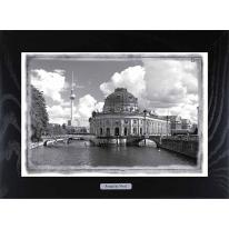"""Картина-сувенир из Берлина """"Museuminsel"""" 28х38см"""