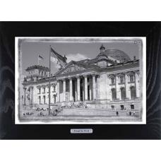 Картина-сувенир из Берлина Здание Рейхстага