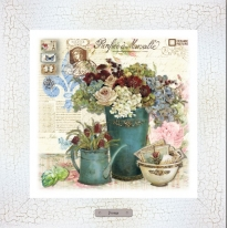 Картина-сувенир «Крокембуш» 28х28см, рама беж-кракле